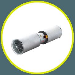 Extractor Monóxido de carbono. Productos y servicios antiincendios